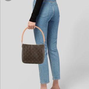 Louis Vuitton monogram looping MM bag